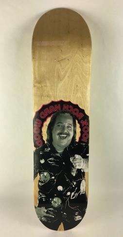 "Ron Jeremy 100% Hard Rock Wood skateboards deck 7.75"" RARE"