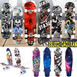 22/25/31 inch Complete Skateboard Deck Beginners Park Street