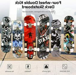 22/26/31 INCH 7 Layers Maple Deck Pro Skateboard Complete Do