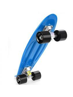 """22"""" Complete Skateboard For Kids, Beginners, Skaters"""