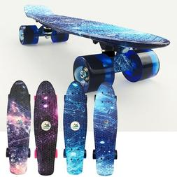 22'' Cruiser Skateboard Penny Galaxy Style Board Graphic Str