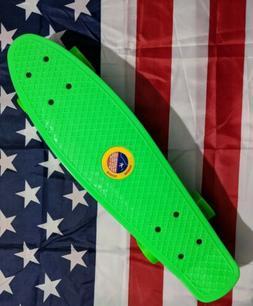 22 penny board plastic deck street skateboard