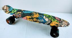 """Enkeeo 22"""" Skateboard, Joker"""