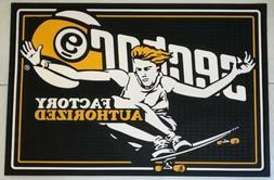 """26.5"""" x 18"""" Sector 9 Skateboard Rubber Garage Mat - New Old"""