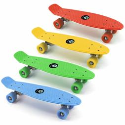 "27"" skateboard Plastic Penny Style Board High Quality Bearin"