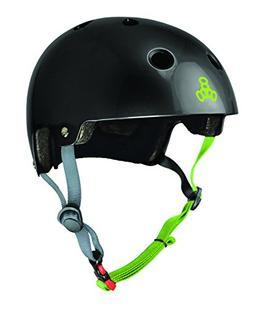 3048 dual certified helmet, large/x-large, black gloss w/ ze