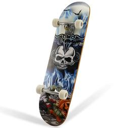 "31"" Cruiser Skateboard Complete 4 Pattern High Quality Wheel"