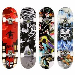 31x 8 standard skateboards beginners complete boards