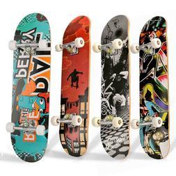 31x 8'' Standard Skateboards Beginners Complete Boards Canad