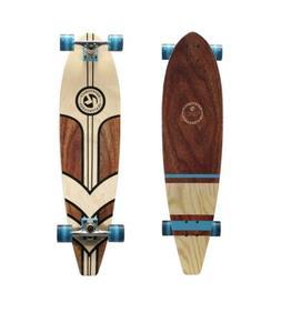 """Kryptonics 36"""" Longboard Complete Skateboard 36"""" x 9"""" maple"""