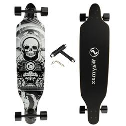 "41"" Longboard Complete for Hybrid Freestyle Carving Cruising"