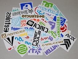 45+ LARGE skateboard stickers for deck board surf sports out