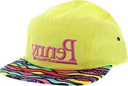Penny 5 Panel Hat Adj - Mixtape Yel/Asst