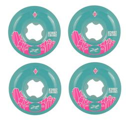 Ricta 53mm Super Crystals Teal Skateboard Wheels 99a
