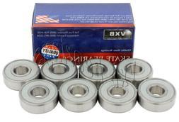 608 Hybrid Ceramic Balls Skateboard Sealed Bearing 608RS Whi