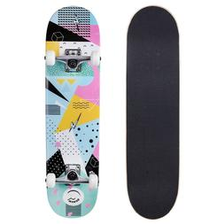 "Cal 7 7.75"" Hella Complete Popsicle Skateboard"