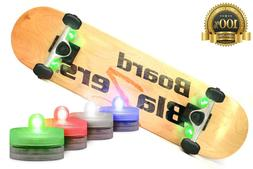 LED Underglow Lights For Skateboards Longboards Kick Scooter