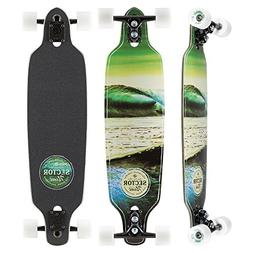 Sector 9 Verde Mini Fractal Complete 34 Inch Maple Drop Thro