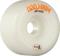 Mini Logo A-Cut Hybrid White Skateboard Wheels - 55mm 90a