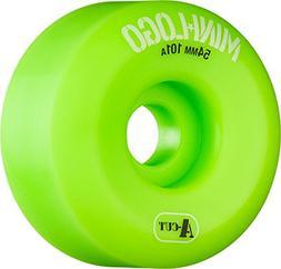 Mini Logo A-Cut Green Skateboard Wheels - 54mm 101a