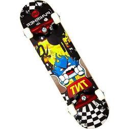 """Punisher Skateboards 31"""" ABEC-7 Complete Skateboard, TNT"""