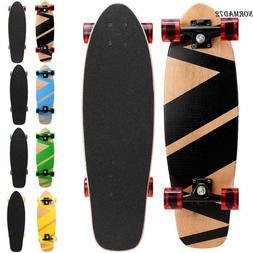 """Adult Skateboard Complete Wheel Truck 27""""x 8"""" Longboard Deck"""