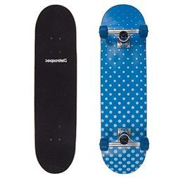 Retrospec by Westridge Alameda Skateboard Complete with ABEC