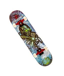 Punisher Skateboards Alien Rage Complete Skateboard with Con