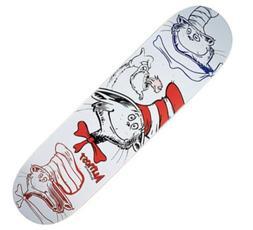 Almost Yuri Facchini Dr. Seuss Cat in the Hat Skateboard Dec