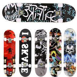 Skateboards Pro 31 inches Complete Skateboards for Teens Beg