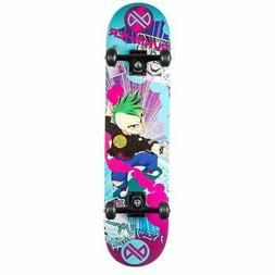 Punisher Skateboards Anime Complete Skateboard with Convace