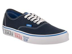 Vans Unisex Authentic Checker Tape Dress Blue/Blue/Red Skate