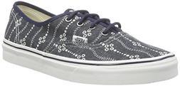 Vans Unisex Authentic Indigo Shoes, Mens 7 Womens 8.5