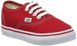 Vans Kids' Authentic Skate Shoe Core Red 3