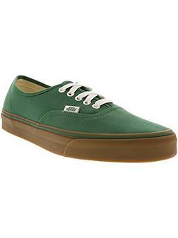 Vans Unisex Authentic  Vrdnt Grn/Md Gum Skate Shoe 9.5 Men U