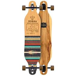 """Arbor Axis 40 Flagship Complete Skateboard, Nocturnal, 40"""" L"""