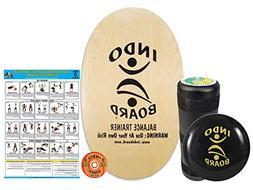 Indo Board Balance Trainer - Natural