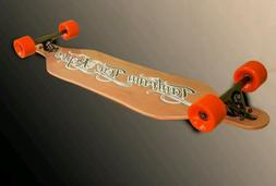 Bamboo Longboard Skateboard -  Complete by Tantrum Tow Ropes