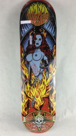 "Benson Devil Women Pro deck - Death Skateboards 8.375"" with"