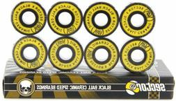 Sector 9 Black Ball Ceramics Race Bearing with Spacers