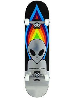 Alien Workshop Black Torch - 7.75 Inch Skateboard Complete