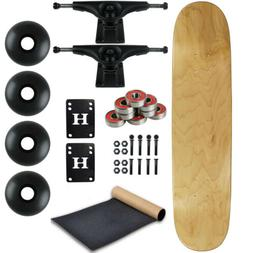 Moose BLANK COMPLETE Skateboard NATURAL 7.25 MINI Skateboard