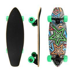 "Blank Complete Skateboard BLACK 7.5"" Skateboards"