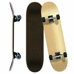 Yocaher Blank Complete Skateboard - Natural