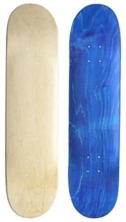"Skateboard Collective 7.75"" Blank Skateboard Deck Random Top"