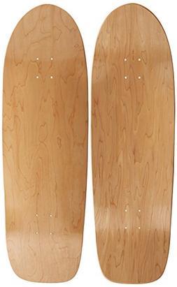 """Blank Longboard Deck OLD SCHOOL board 33"""" X 10"""" skateboard,"""
