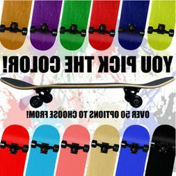 Blank Pro Maple Complete Skateboard ReadyToRide YOU PICK SIZ
