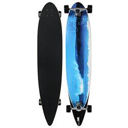 Krown Blue Wave City Surf Longboard Skateboard