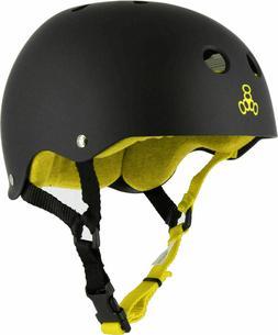 Triple Eight Brainsaver Skateboard Helmet with Sweatsaver