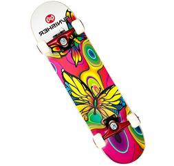 Punisher Skateboards Butterfly Jive Complete 31-Inch Skatebo